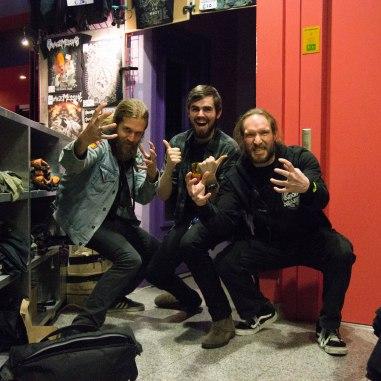 Patrik, Mike TV & Tom. Best dudes ever!